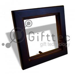 Рамка для плитки деревянная 10х10см (плитка в комплект не входит)