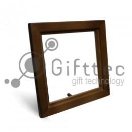Рамка для плитки деревянная 15.2х15.2см (плитка в комплект не входит)