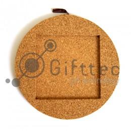 Подставка под горячее пробковая для плитки 10.8х10.8см