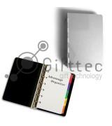 Ежедневник металлический (полная запечатка 14х9.2см) под сменные блоки (05)