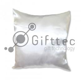 Подушка с наволочкой 40x40см БЕЛАЯ для сублимации