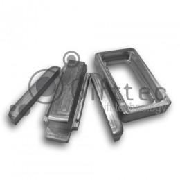 Форма алюминиевая для изготовления чехлов Samsung Galaxy S4 mini (для 3D - сублимации)