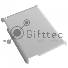 IPad 2/3 - Белый чехол глянцевый пластик (для 3D - сублимации)