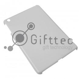 IPad mini - Белый чехол глянцевый пластик (для 3D - сублимации)