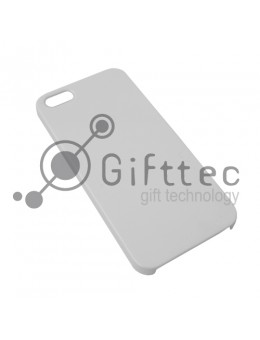 IPhone 5/5S - Белый чехол глянцевый пластик (для 3D - сублимации)