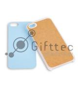 IPhone 5/5S - Прозрачный чехол пластиковый (вставка под сублимацию)