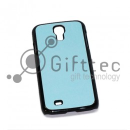 Samsung Galaxy S4 i9500 - Чёрный чехол пластиковый (вставка под сублимацию)