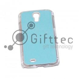 Samsung Galaxy S4 i9500 - Прозрачный чехол пластиковый (вставка под сублимацию)