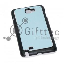 Samsung Galaxy Note i9220 - Чёрный чехол пластиковый (вставка под сублимацию)