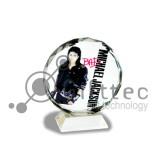 Фотокристалл SJ03C - Подсолнух круглый 80х95х30мм