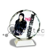Фотокристалл УФ SJ03B - Подсолнух круглый 100х115х30мм