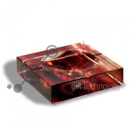 Фотокристалл УФ SJ07A - Пепельница 100х100х30мм