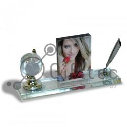 Фотокристалл УФ SJ23 - Глобус большой (настольный набор) 180х90х50мм
