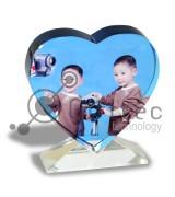 Фотокристалл УФ XP13 - Сердце 100х110х20мм