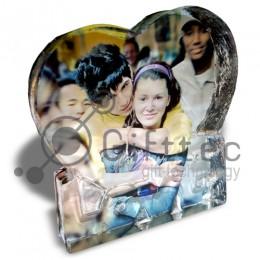 Фотокристалл УФ XP36B - Сердце LOVE 145х145х30мм