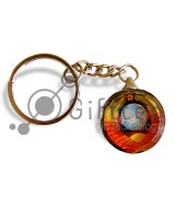 Фотокристалл УФ SK06 - Брелок круглый 30х30х10мм