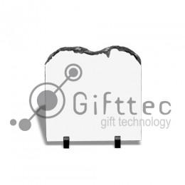 Фотокамень SH05 Квадрат с ломаным верхом, 20х20см для сублимации