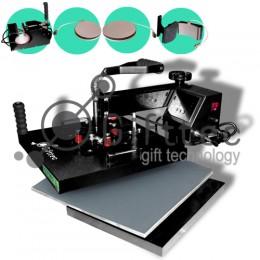 Термопресс Gifttec MASTER комбо 5 в 1, 38х38см, электронное управление WL-13D