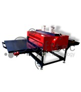 Термопресс Gifttec EXPERT промышленный пневматический плоский 100х120см, 2 стола