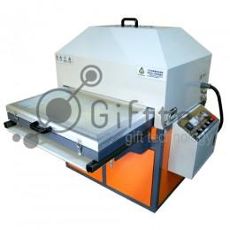 3D сублимационный вакуумный термопресс промышленный, выкатной стол 40х60см