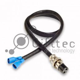 "Коннектор XLR-2 ""мама"" (с кабелем)"