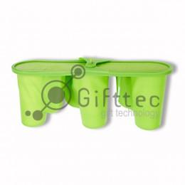 Пресс-форма на 3 кружки-латте (для 3D вакуумного термопресса ST-3042)
