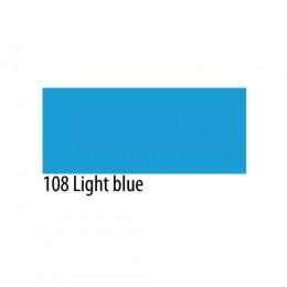 Термоплёнка Chemica firstmark полуматовая  для изделий из хлопка, п/э, акрила, голубая, 50х100см