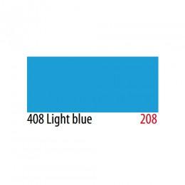 Термоплёнка Chemica hotmark матовая для изделий из хлопка, п/э, акрила, голубая, 50х100см