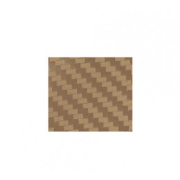 Термоплёнка Chemica hotmark fashion для изделий из хлопка, п/э, акрила, 3D-фактура, золотой карбон, 50х100см