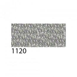 Термоплёнка Chemica bling-bling star для изделий из хлопка, п/э, акрила, с эффектом фактурных зеркальных блёсток, серебряная, 50х100см