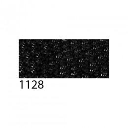 Термоплёнка Chemica bling-bling star для изделий из хлопка, п/э, акрила, с эффектом фактурных зеркальных блёсток, чёрная, 50х100см