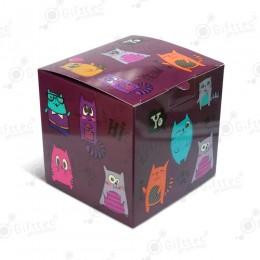 "Коробка подарочная для кружки без окна ""Котики"""
