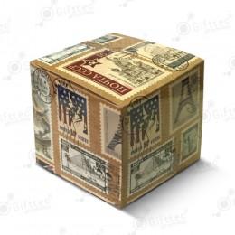 "Коробка подарочная для кружки без окна ""Марки"""