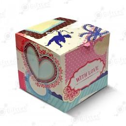 """Коробка подарочная для кружки без окна """"С любовью"""""""
