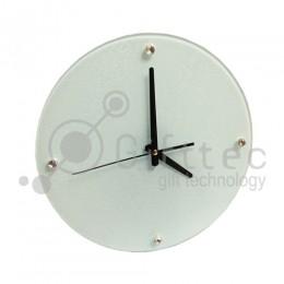 Часы стеклянные d=30см BL15 для сублимации