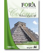 Фотобумага FORA самоклеящаяся глянцевая 120 гр А3 20 листов