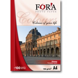 Фотобумага FORA глянцевая 180 гр 10х15 500 листов
