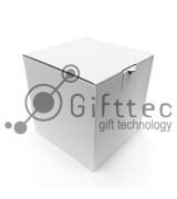 Коробка для кружки БЕЛАЯ 10х10х10см