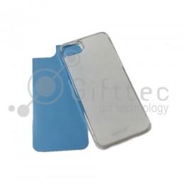 IPhone 7/8 - Прозрачный чехол пластиковый (вставка под сублимацию)
