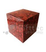 """Коробка подарочная для кружки без окна """"Сердечки"""""""