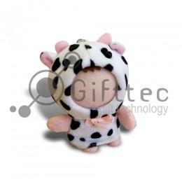 3D Игрушка Корова (размер 8-10 см) запечатка 5х5см / 2-PD12