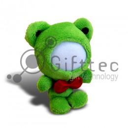 3D Игрушка Лягушка (размер 12 см) запечатка 5х5см / 2-PD26