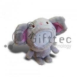 3D Игрушка Мышка (размер 12 см) запечатка 5х5см / 2-PD32