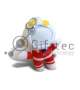 3D Игрушка Пупс (размер 13 см) запечатка 5х5см / 2-PD47