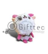 3D Игрушка Овца РОЗОВЫЕ ножки (размер 12 см) запечатка 5х5см / 2-PD63