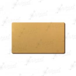 Бейдж 70х40мм без окна (золото глянец SU21), под сублимацию, упаковка 10шт