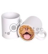 Кружка белая (Веселый нос) БОРДОСКИЙ ДОГ для сублимации