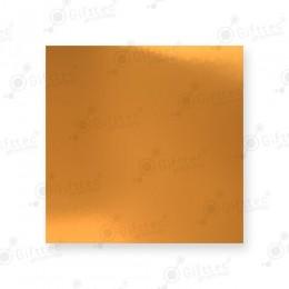 Пластина 20х27см евроразмер (алюминий) 0,50мм ЗОЛОТО ГЛЯНЦЕВОЕ для сублимации
