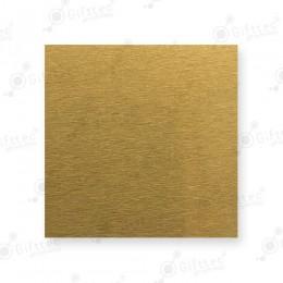 Пластина 10х15см металлическая (алюминий) 0,45мм ЗОЛОТО САТИН для сублимации