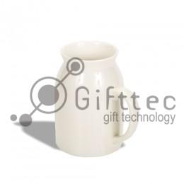 Кружка-молочник белая, 300мл для сублимации